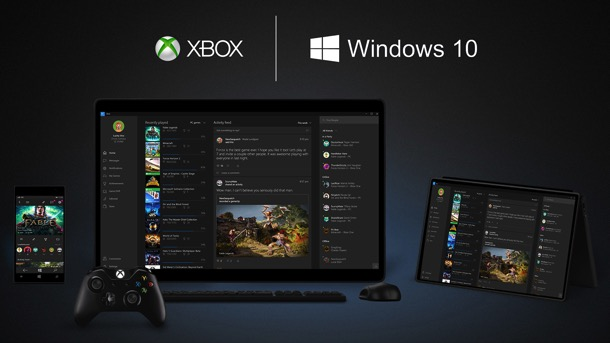 Win10 xbox devices web